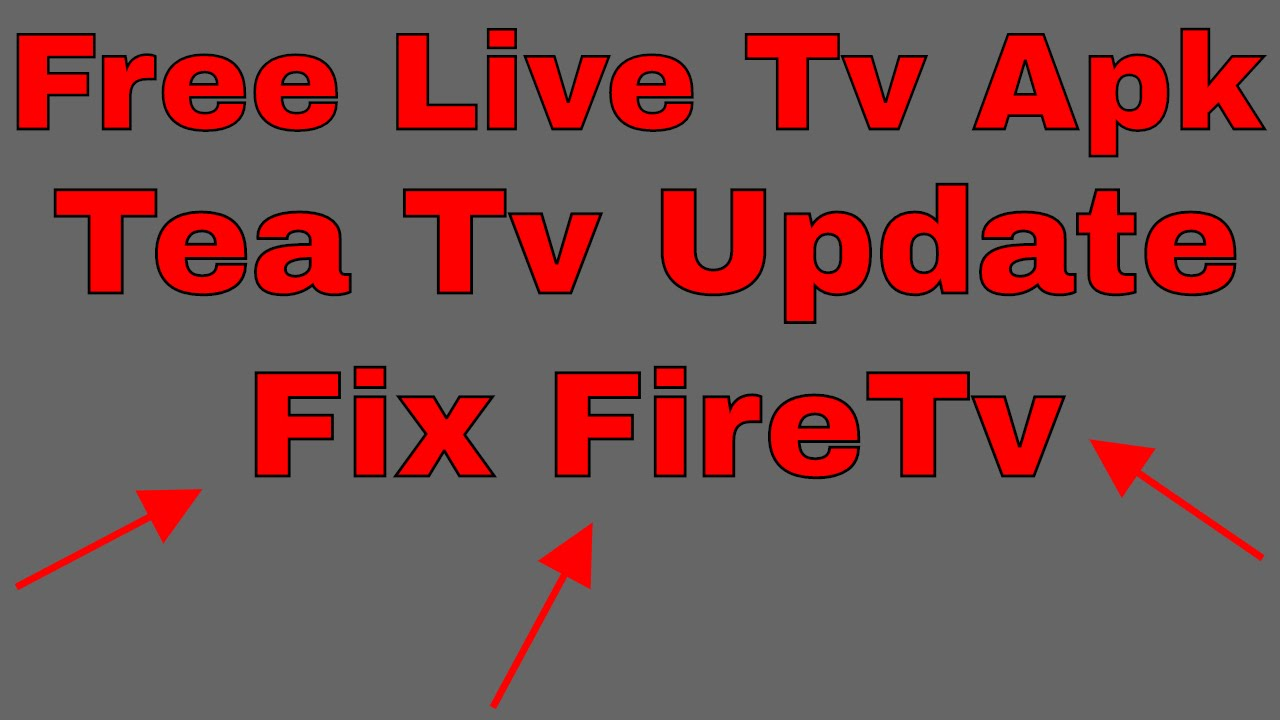 TEA TV {Update} BEST KEPT SECRET Free LIVE TV APK – FORGET ABOUT Kodi 17.3  #Smartphone #Android