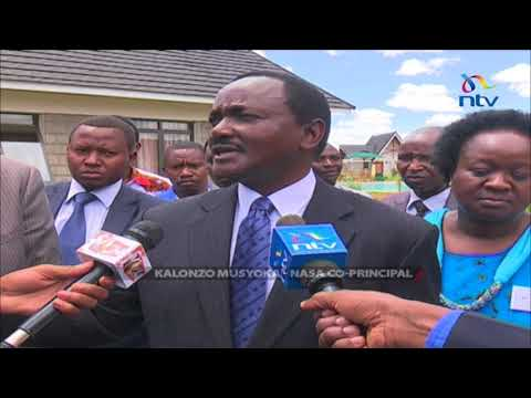 There was a plot to charge me with treason - Kalonzo Musyoka