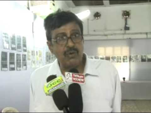 Interview with one TV Channel at Exhibition hall  Of Bhutan philately -1