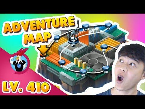 Monster Legends: Adventure map level 401 to 410 - Arcade Boss