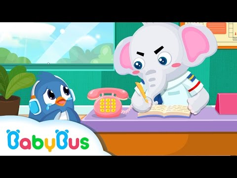 ❤ What To Do If You Got Lost | Animation For Babies | BabyBus | Baby Panda