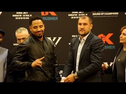 The Andre Ward vs. Sergey Kovalev 2 Full Oakland Press Conference Video