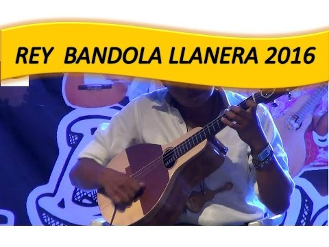 Rey De La Bandola Llanera 2016