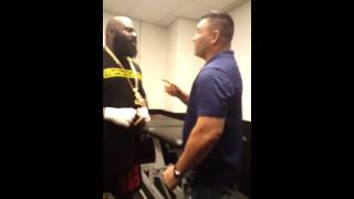 Bobby Gunn confronted Kimbo Slice