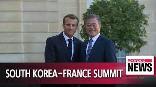 President Moon calls on international community to lift sanctions on North Korea to assure regime