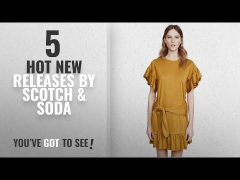 Hot New Scotch & Soda Women Clothing [2018]: Scotch & Soda Maison Scotch Women's Ruffle Wrap Dress,
