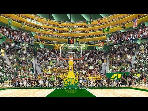 Seattle Supersonics mix - The Town is back HD