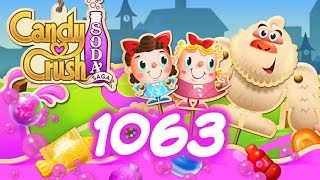 Candy Crush Soda Saga Level 1063 - 6 Moves Left