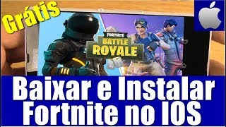 FORTNITE IOS | DOWNLOAD, INSTALL AND CREATE ACCOUNT (TOTALLY FREE)
