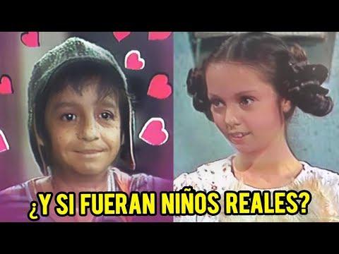 ¿Cómo se verían los personajes del Chavo si fueran niños reales? (Parte 2) | CRONOS FILMS TV