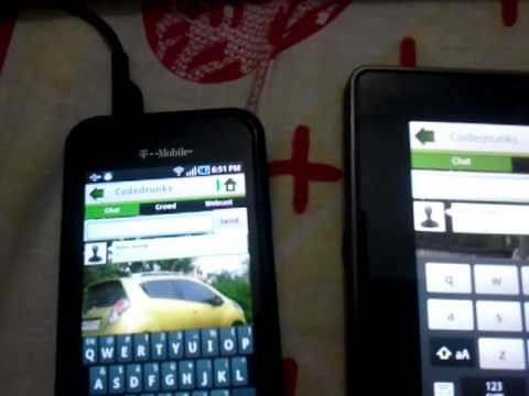 P2P Audio - Video On Mac, Android Phone / Tablet And Blackberry