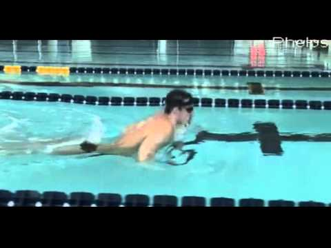 Phelps breaststroke demonstration - a closer look at his breaststroke swimming