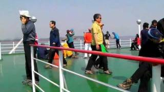 South Korea: Ferry from Mokpo to Jeju  木浦から済州島までのフェリー