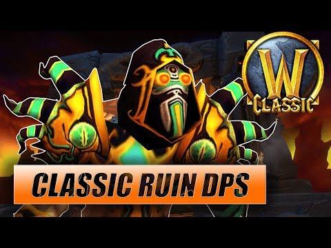 Classic WoW Ruin Warlock DPS