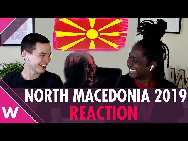 North Macedonia | Eurovision 2019 REACTION video | Tamara Todevska