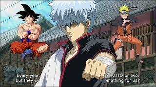 Gintoki Complains About Naruto & Dragon Ball Games | Gintama Project Last Game PS4 Trailer [ENGLISH] thumbnail