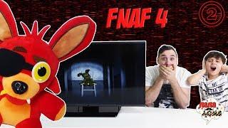 Папа РОБ и Ярик продолжают играть в FNAF4 Часть 2