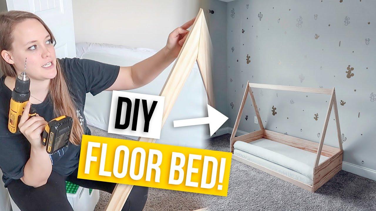 Diy Montessori Floor Bed You
