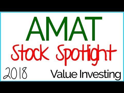 Applied Materials Stock Spotlight | Oct. 2018 | $AMAT