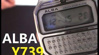 VintageDigitalWatches - Ep 5 - Alba Y739 calculator watch