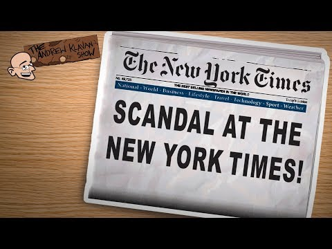 The NY Times Becomes the Scandal   The Andrew Klavan Show Ep. 637