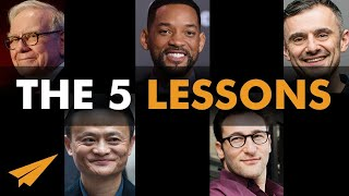 The 5 LESSONS In Life People Learn TOO LATE