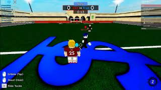 Playing TPS: Street Soccer  ROBLOX