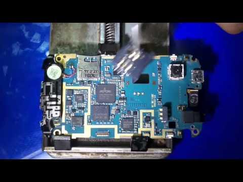 طريقة تغيير كونكتور كارت سيم change connecteur carte sim samsung s5360