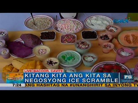 Unang Hirit: Summer negosyo na Ice scramble