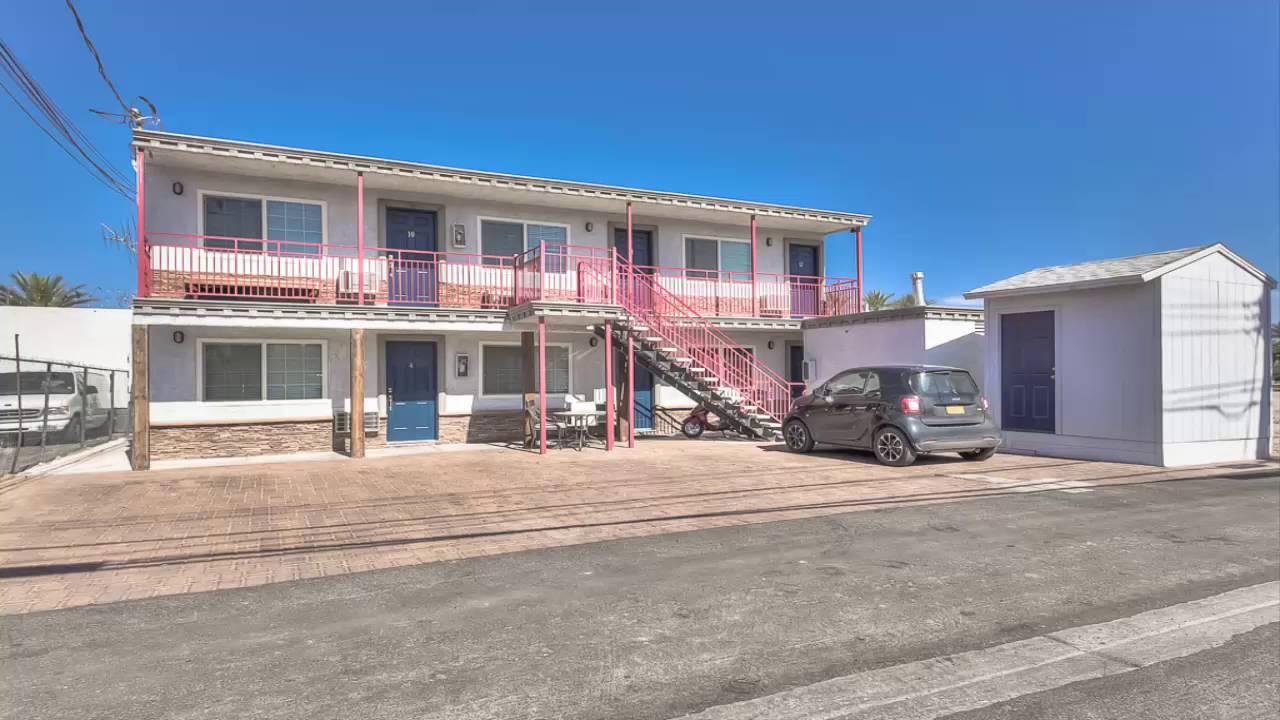 12 Unit Boutique Apartment Building For 100 Occupied Arts District Down Town Las Vegas
