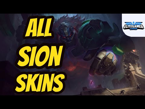 All Sion Skins Spotlight League of Legends Skin Review