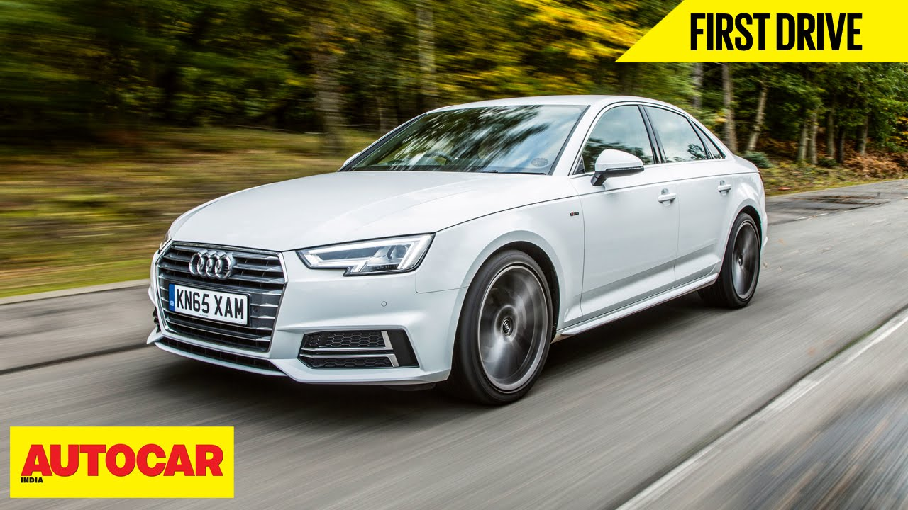 Audi A4 | First Drive | Autocar India   YouTube
