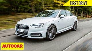 Audi A4 | First Drive | Autocar India