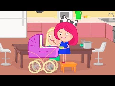 Мультики - Смарта и Чудо-сумка - Пюре  - Развивающие мультфильмы