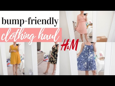 h&m-try-on-haul-summer-2019-|-bump-friendly-maternity-outfit-ideas