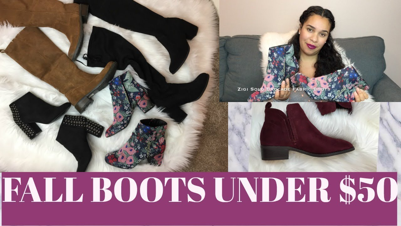 Fall Try On Shoe Haul 2017 | Affordable Fall Boots