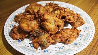 Ulli Vada (Onion Fritters) - Hot & Crispy Teatime Snack