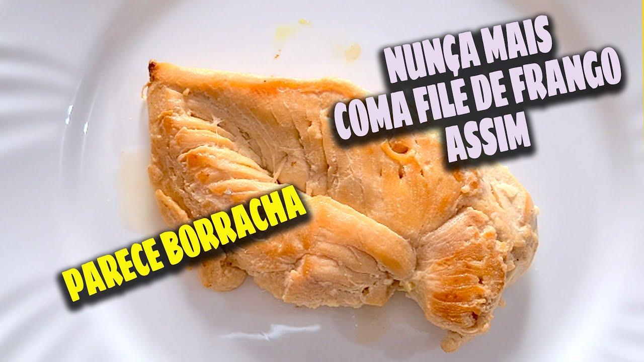 O MELHOR FILÉ DE FRANGO DO MUNDO - RECEITA MAROMBA MUITO FÁCIL, DEIXA A DIETA DELICIOSA!