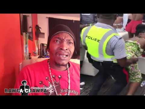 Police Officer Getting Down In Carnival ( 27 April 2017 ) Funny Vlog