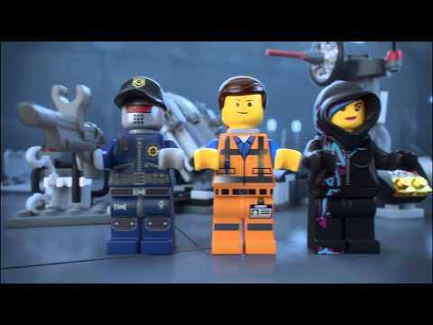 The Lego Movie | 70801 | Melting Room | Lego 3D Review
