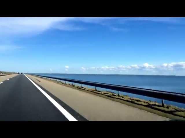 Abschlussdeich zwischen IJsselmeer und Nordsee