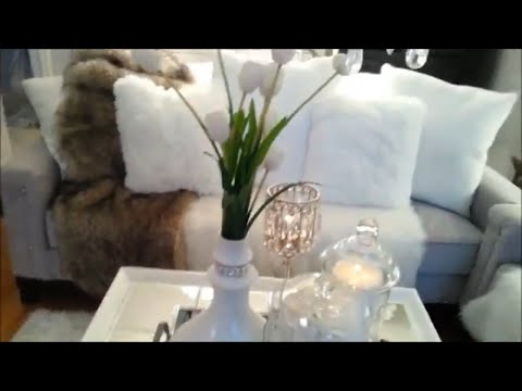 Summer Time Glam Living Room Tour 2018