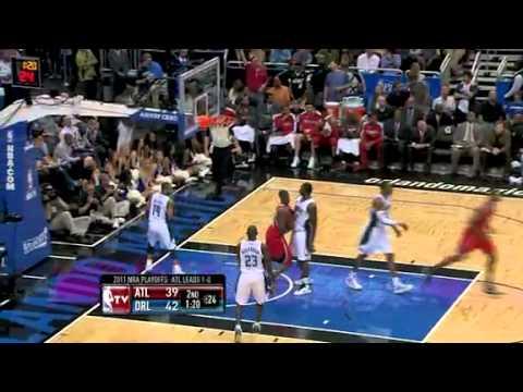 NBA Playoffs 2011: Atlanta Hawks Vs Orlando Magic Game 2 Highlights