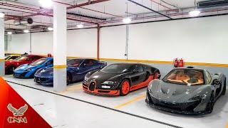 Thái tử Qatar và thú chơi siêu xe triệu đô
