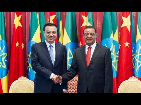 Chinese premier meets Ethiopian president