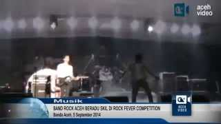 Rocker Aceh Beradu Skil di Festival Rock Fever Competition