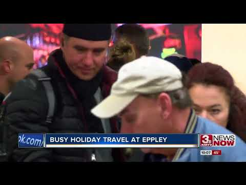 Omaha prepares for Holiday travel out of Eppley Airfield