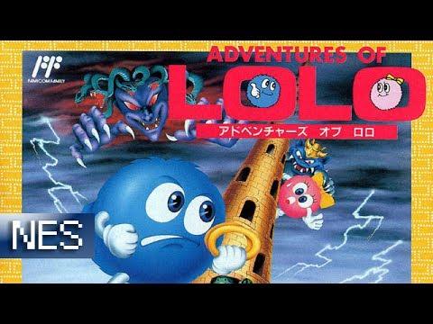[Longplay] Adventures of Lolo - Nes