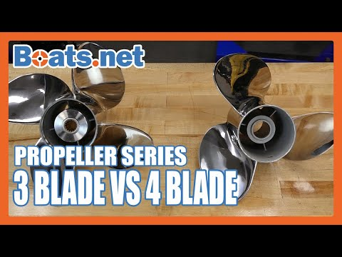 3 Blade Vs 4 Blade Propellers | What's The Difference Between 3 And 4 Blade Outboard Props