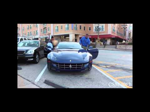 Chicago Bears Defensive End Julius Peppers in his Ferrari FF!!!